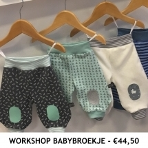 Workshop Babybroekje