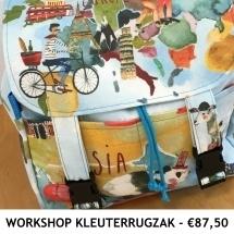 Workshop Kleuterrugzak