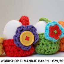 Workshop Ei-mandje Haken