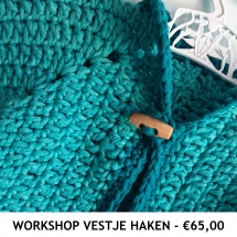 Workshop Vestje Haken